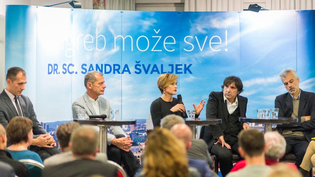 Sandra Švaljek na panelu o zapuštenim gradskim prostorima