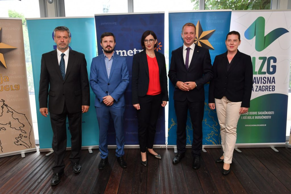 Unija Kvarnera novi partner stranaka Pametno, FOKUS i NLZG